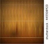 wood bamboo mat texture...   Shutterstock .eps vector #445508923