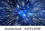 abstract blue background.... | Shutterstock . vector #445513408