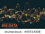 big data visualization.... | Shutterstock .eps vector #445514308