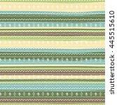 uncommon ethnic pattern.... | Shutterstock .eps vector #445515610