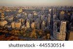 new york city skyline cityscape ...   Shutterstock . vector #445530514