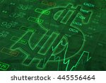us dollar sign. money... | Shutterstock . vector #445556464