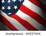 abstract american flag... | Shutterstock . vector #44557444