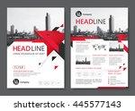 brochure template design....   Shutterstock .eps vector #445577143