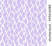 seamless creative hand drawn... | Shutterstock .eps vector #445616488