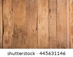 wooden rustic background. old... | Shutterstock . vector #445631146