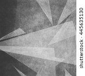 black blank chalkboard for... | Shutterstock . vector #445635130