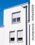 part of a modern plattenbau | Shutterstock . vector #445645009
