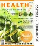 glossy magazine page. healthy...