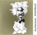 Cartoon Caricature Mark Twain...
