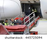 hamburg  germany   circa june...   Shutterstock . vector #445725094