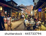 sarajevo  bosnia and...   Shutterstock . vector #445733794