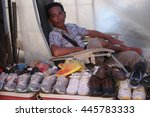 lahad datu sabah malaysia  june ... | Shutterstock . vector #445783333