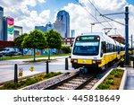 dallas   circa july 2013  the... | Shutterstock . vector #445818649