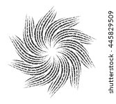 mandala. round ornament pattern. | Shutterstock .eps vector #445829509