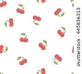 vector seamless pattern on a...   Shutterstock .eps vector #445836313