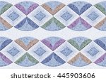 the tiles are the good texture... | Shutterstock . vector #445903606