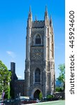 Small photo of TORONTO,CANADA-JUNE 6,2016: University of Toronto: Soldiers Tower is a memorial to alumni fallen in wars. The Gothic Revival Tower was designed by architects Henry Sproatt and Ernest Ross Rolph