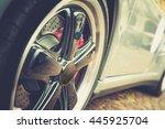 close up of a modern sport...   Shutterstock . vector #445925704