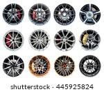 collection of modern sport...   Shutterstock . vector #445925824