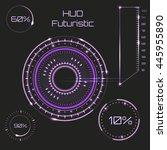 futuristic graphic user...