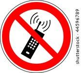 warning sign | Shutterstock . vector #44596789