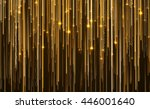 abstract star light streak... | Shutterstock . vector #446001640