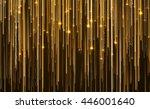 abstract star light streak... | Shutterstock . vector #446001640