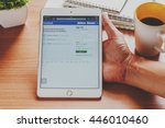 bangkok  thailand   april 2 ...   Shutterstock . vector #446010460