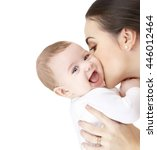 family  parenting and child... | Shutterstock . vector #446012464
