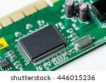 electronic waste isolated on...   Shutterstock . vector #446015236