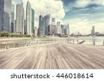 singapore   july 24  view of... | Shutterstock . vector #446018614