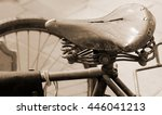 very old saddle route of an old ... | Shutterstock . vector #446041213