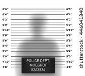 police mugshot template | Shutterstock .eps vector #446041840