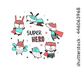 Supper Hero.cartoon Character...