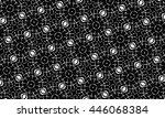 black and white ornament. r  | Shutterstock . vector #446068384