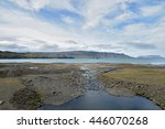 whale fjord  iceland | Shutterstock . vector #446070268