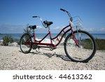 Red Tandem Bicycle