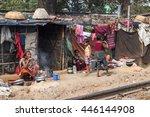 dhaka  bangladesh   march 3 ... | Shutterstock . vector #446144908