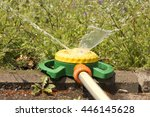 nozzle automatic watering... | Shutterstock . vector #446145628