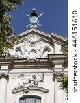Small photo of Facade of Church on Skalka, Pauline Fathers Monastery, Krakow, Poland.