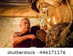 mandalay  myanmar     november...   Shutterstock . vector #446171176