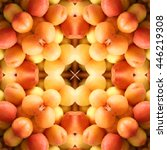 Abstract Apricot Background 3