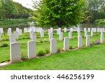Soldiers Cemetery In Belgium