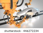 3d rendering  vehicle... | Shutterstock . vector #446272234