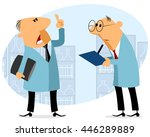 vector illustration of a two... | Shutterstock .eps vector #446289889