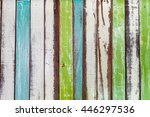 colorful grungy and vintage... | Shutterstock . vector #446297536