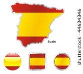 fully editable vector flag of... | Shutterstock .eps vector #44634346