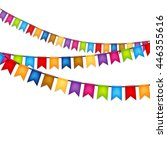 celebration background with... | Shutterstock .eps vector #446355616