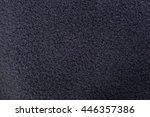 black fleece texture | Shutterstock . vector #446357386